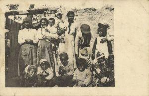 Ansichtspostkarte aus Mazedonien, 1917